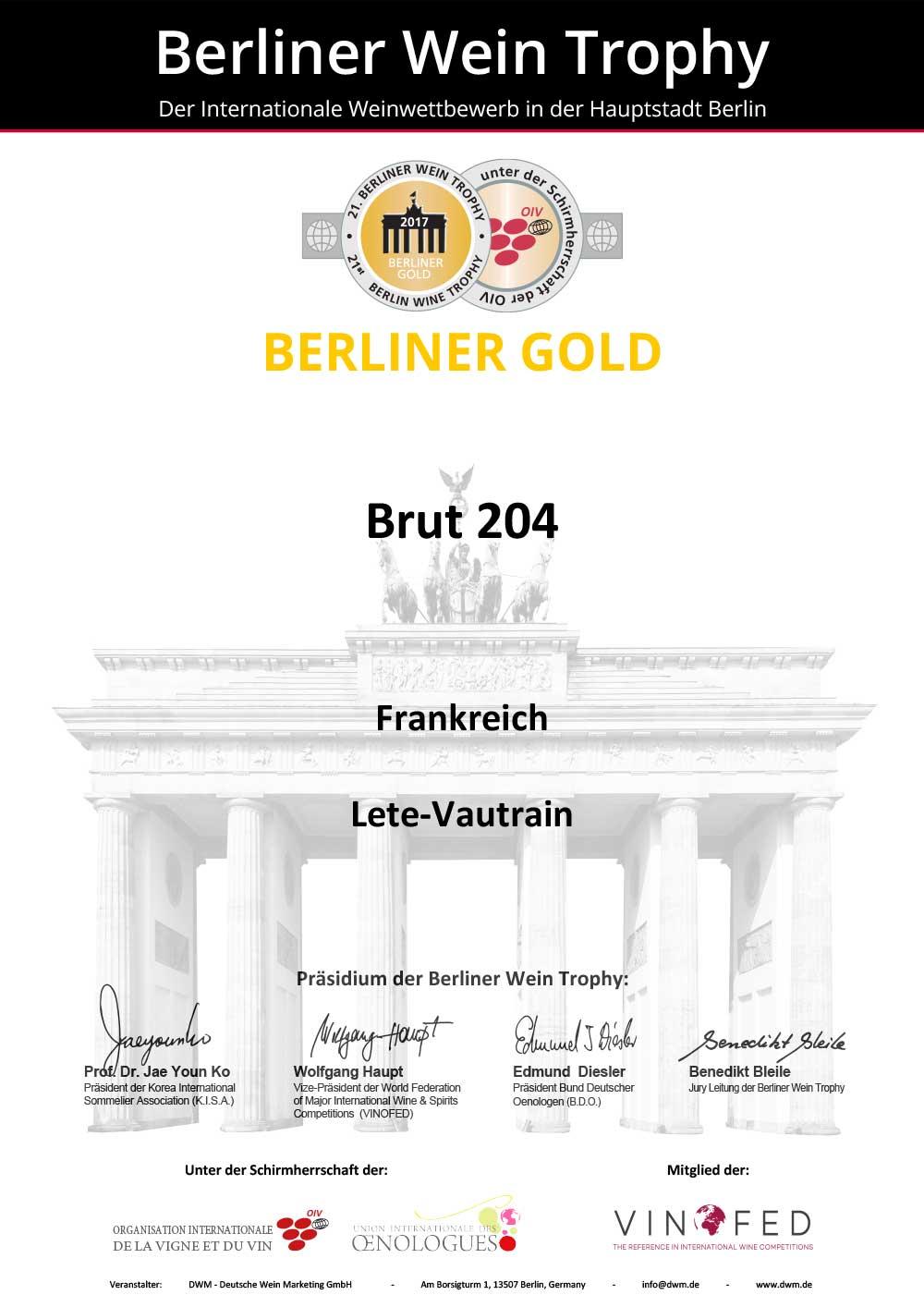 Berliner Gold