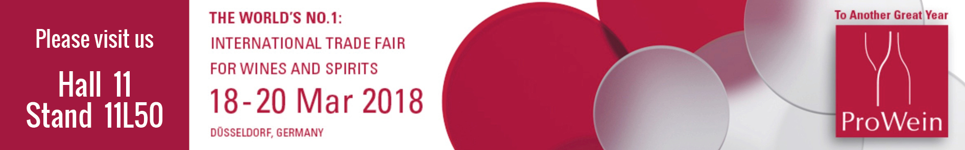 prowein2018 avec stand