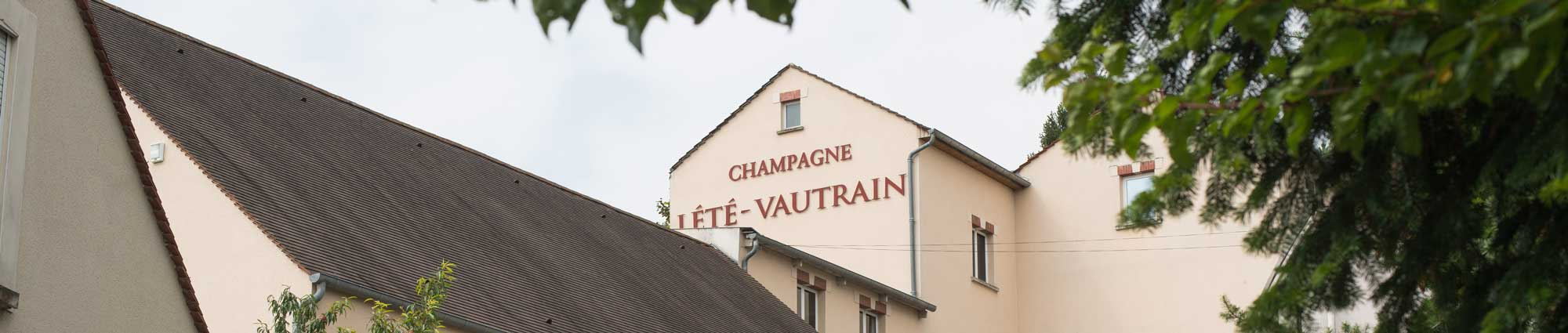 Maison historique du Champagne Lété-Vautrain à Château-Thierry.