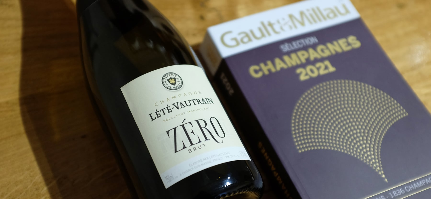 Récompense du Brut Zéro dans le Gault & Millau 2021
